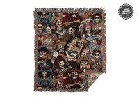 Dia de los Muertos - woven-blanket - small view