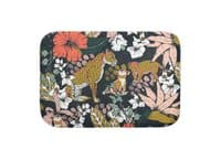 Animal print dark jungle - bath-mat - small view