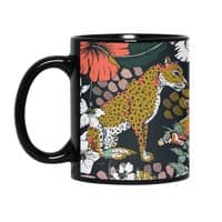 Animal print dark jungle - black-mug - small view
