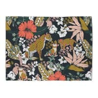 Animal print dark jungle - rug-landscape - small view