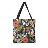 Animal print dark jungle - tote-bag - small view