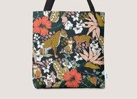 Animal print dark jungle - tote-bag - small view