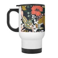 Animal print dark jungle - travel-mug-with-handle - small view