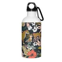 Animal print dark jungle - water-bottle - small view