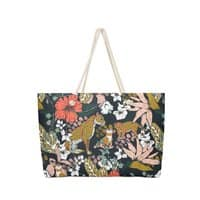 Animal print dark jungle - weekender-tote - small view