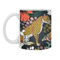 Animal print dark jungle - white-mug - small view