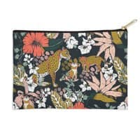 Animal print dark jungle - zip-pouch - small view