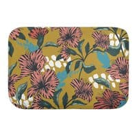 Flowering sweet bloom - bath-mat - small view