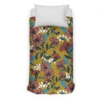 Flowering sweet bloom - duvet-cover - small view