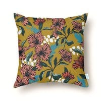 Flowering sweet bloom - throw-pillow - small view
