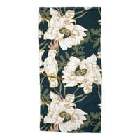 Birds in the dark flowering - beach-towel - small view