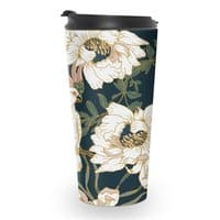 Birds in the dark flowering - travel-mug - small view