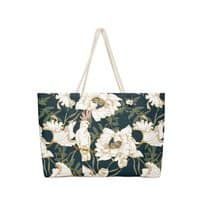 Birds in the dark flowering - weekender-tote - small view