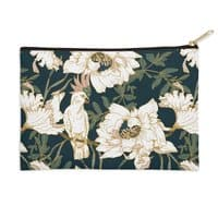 Birds in the dark flowering - zip-pouch - small view