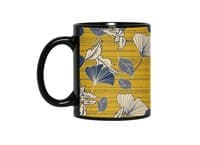 Flowery autumn - black-mug - small view
