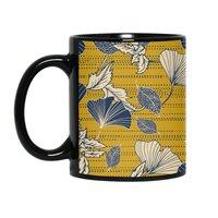 Flowery autumn - black-mug - small view