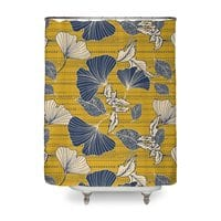 Flowery autumn - shower-curtain - small view