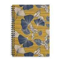 Flowery autumn - spiral-notebook - small view