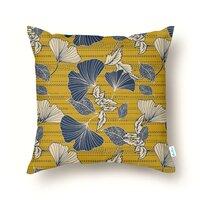 Flowery autumn - throw-pillow - small view