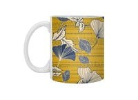Flowery autumn - white-mug - small view
