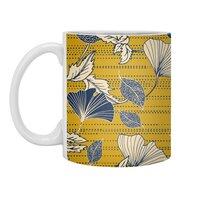 Flowery autumn - white-mug - small view