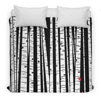 Birch Blanket - duvet-cover - small view