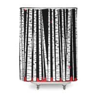 Birch Blanket - shower-curtain - small view