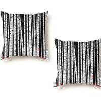Birch Blanket - throw-pillow - small view