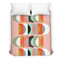 What Color Is The Moon - duvet-cover - small view
