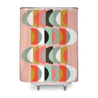 What Color Is The Moon - shower-curtain - small view