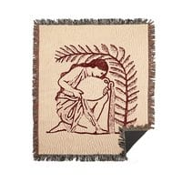 Where the Red Fern Grows - woven-blanket - small view