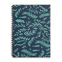 Leaves A Plenty - spiral-notebook - small view