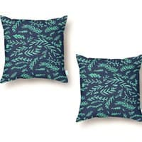 Leaves A Plenty - throw-pillow - small view
