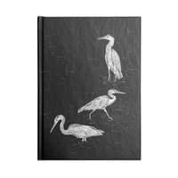 Three Herons - notebook - small view
