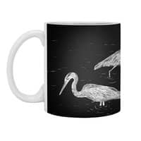 Three Herons - white-mug - small view