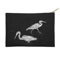 Three Herons - zip-pouch - small view