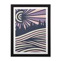 AUTUMN N/GHTS - black-vertical-framed-print - small view