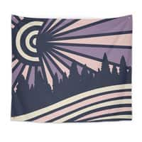 AUTUMN N/GHTS - indoor-wall-tapestry - small view