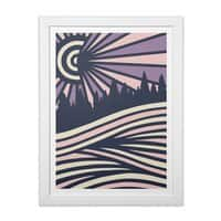 AUTUMN N/GHTS - white-vertical-framed-print - small view