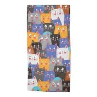 cats, cats, cats ..... - beach-towel - small view