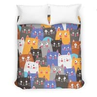 cats, cats, cats ..... - duvet-cover - small view