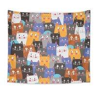 cats, cats, cats ..... - indoor-wall-tapestry - small view