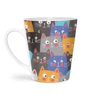 cats, cats, cats ..... - latte-mug - small view
