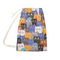 cats, cats, cats ..... - laundry-bag - small view