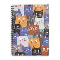 cats, cats, cats ..... - spiral-notebook - small view