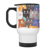 cats, cats, cats ..... - travel-mug-with-handle - small view