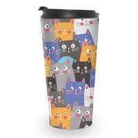 cats, cats, cats ..... - travel-mug - small view