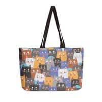 cats, cats, cats ..... - weekender-tote - small view