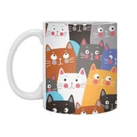 cats, cats, cats ..... - white-mug - small view