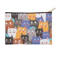 cats, cats, cats ..... - zip-pouch - small view
